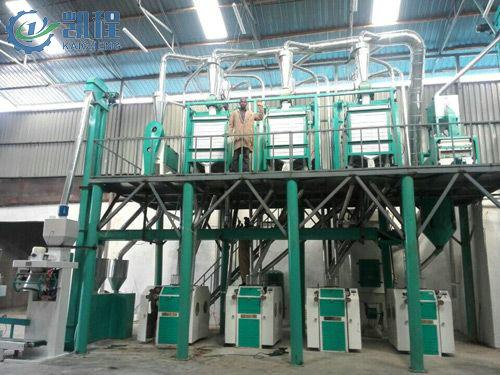 50T玉米粉生产线